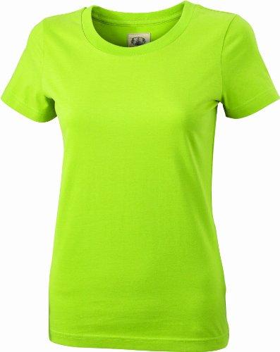 James & Nicholson T-shirt vintage pour femme Vert (lime-green)