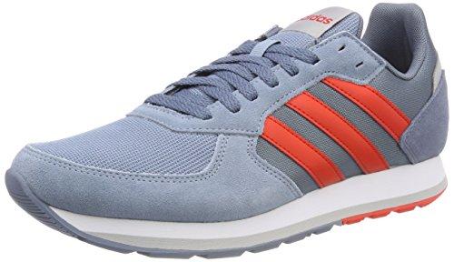 adidas Herren 8k Gymnastikschuhe, Grau (Raw Grey S18/Hi-Res Red S18/Raw Steel S18), 40 EU (Über Diese Schuhe)