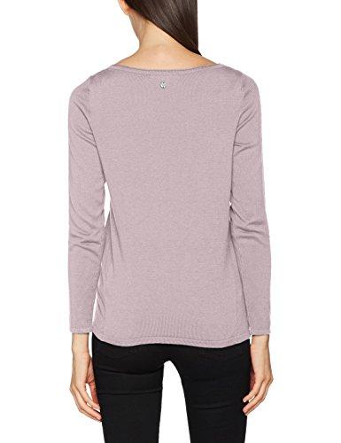 ESPRIT Damen Pullover Violett (Mauve 5 554)