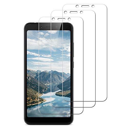 Enshant [3 Unidades] Cristal Templado Xiaomi redmi 6, Cristal Templado Xiaomi redmi 6A, Protector de Pantalla para Xiaomi redmi 6A[9H Dureza] [Anti-Scratch] Protector Pantalla Xiaomi redmi 6/6A