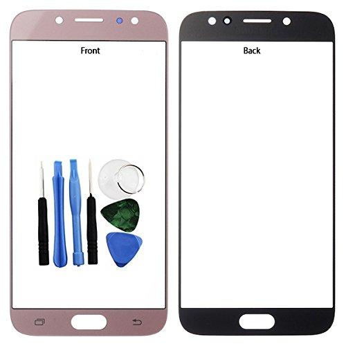 BisLinks®® Für Samsung Galaxy J7 J7 Pro 2017 Front Outer Glas Bildschirm Linse Rosa J730 Tools Ersatz Teil
