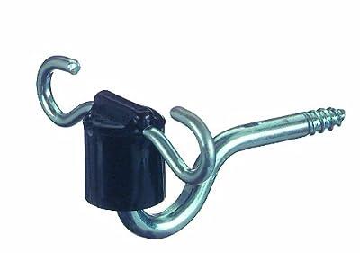 Weidezaun Isolator Torgriffisolator Nylon mit 2 Einhängeösen 7mm Stütze schwarz 10 St. von Göbel bei Du und dein Garten