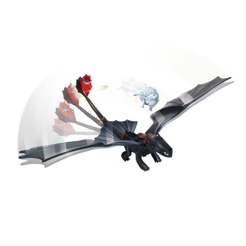 DreamWorks Dragons Defenders of Berk - Figura de dragón de acción - Noche sin Dientes Fury (Catapult Tail)