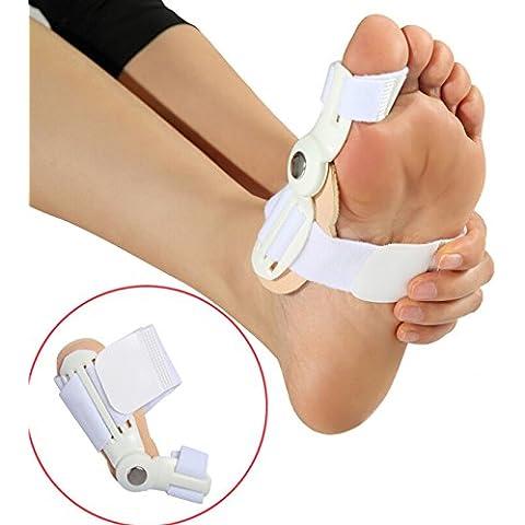 asbent (TM) cuidado de los pies Corrector de corrección de dedos pulgar buenas noches diario grande hueso Ortesis Juanete dispositivo Hallux Valgus Pro ortopédica