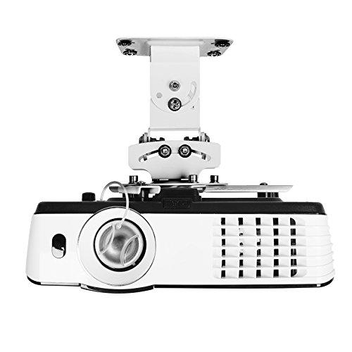Duronic PB05XB Beamer Halterung | Projektor Halterung | Universal Wandhalterung | Halterung für Video-Projektor | drehbar und schwenkbar | Heimkino | Traglast bis zu 13,6 kg