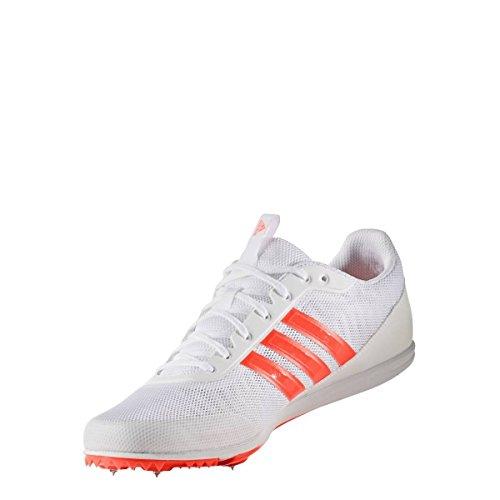 adidas Distancestar White Solar Red 45 1/3