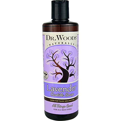 Dr. Woods Shea Vision Pure Castile Soap Lavender With Organic Shea Butter (16 Fl Oz)