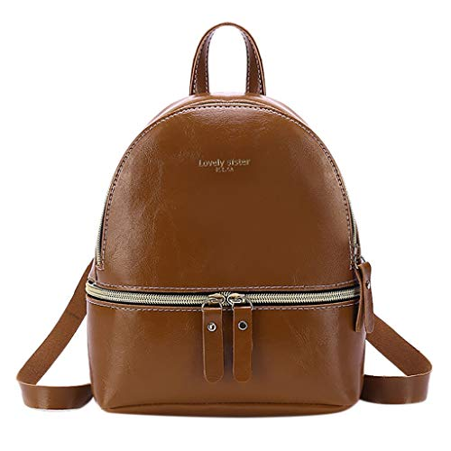 Bfmyxgs Mother es Day Fashion Lady Shoulders Small Backpack Letter Purse Mobile Phone Messenger Bag Totes Handtaschen Shoulder Bag Rucksack Totes Waist Bag Coin Bag. Brustpaket -