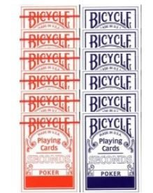 Second BICYCLE cartridge (6 blue - 6 red)