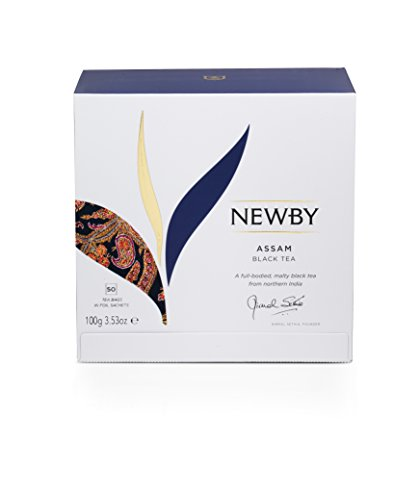Newby Teas Classic Assam Tea Bags (Pack of 1, Total 50)