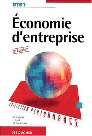 Économie d'entreprise, BTS 1, 2e édition