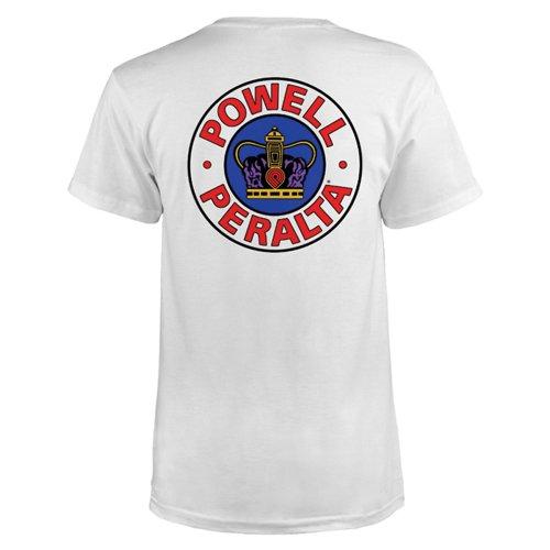 Powell Peralta Supreme T-Shirt L weiß
