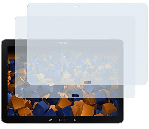 mumbi Schutzfolie kompatibel mit Samsung Galaxy Note Pro 12.2 Zoll LTE / Note Pro 12.2 Zoll Folie klar, Bildschirmschutzfolie (2x)