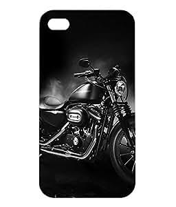 Dzinetree Iphone 4 Back Cover Case - Black