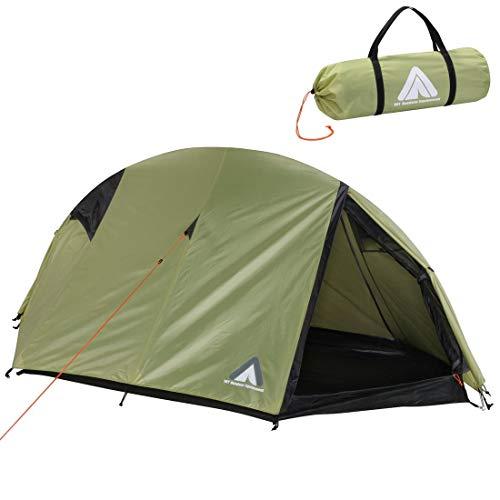 10T Zelt Arcas Beechnut 2 Mann Kuppelzelt Trekkingzelt Einbogenzelt Campingzelt wasserdicht 5000mm
