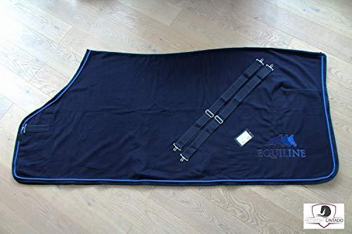 Equiline Abschwitzdecke Sprinter Farbe Pferdezubehör Navy/Navy, Größe XL
