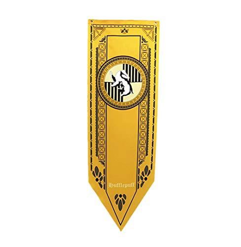 Harry Potter Wand Banner, gryffindor | hufflepuff | ravenclaw | slytherin Haus-Dekor-Flagge (45X150CM)