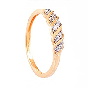 WHP Jewellers  18k Yellow Gold and Diamond Ring