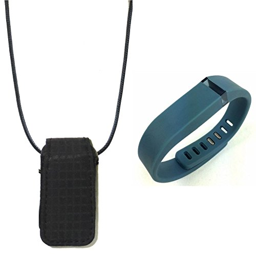 replacement band wristband for fitbit flex and Fashion fabric loop bra Pendant Necklace Holder pouch case