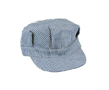 Rothco Hickory Stripe Engineer Cap US Army USMC Navy Marines WWII Rockabilly WK2 WWII (L) -