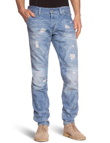 G-STAR Herren Hunter 5620 Elwood 3D Tapered Jeans Blau (Lt Aged Des T.P. 4868.3018)