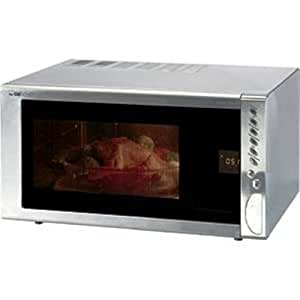 Clatronic Mwg 739 H Four Micro Ondes en Inox 1300 Watts 30 Litres Gril 1100 Watts
