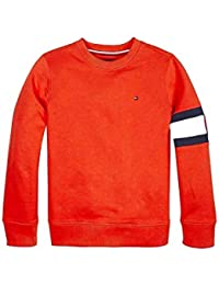 7dcaabcd232 Tommy Hilfiger -Sudadera KB0KB04658 633 Cut+Sew Flag Sweatshirt -Sudadera  SIN Capucha NIÑO