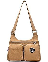 6ee8944efd3 Outreo Bolsa Lateral Moda Bolso Bandolera Mujer Bolsa Diseño Bolsa de  Mensajero Ligero Bolsas de Viaje