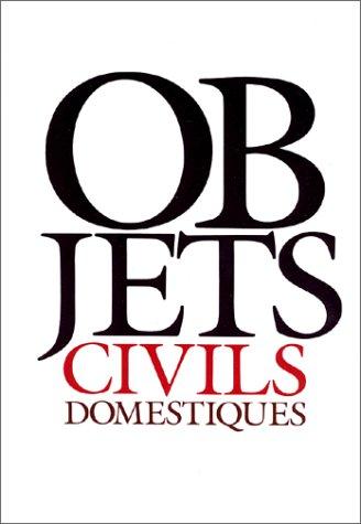 Objets civils domestiques : Vocabulaire