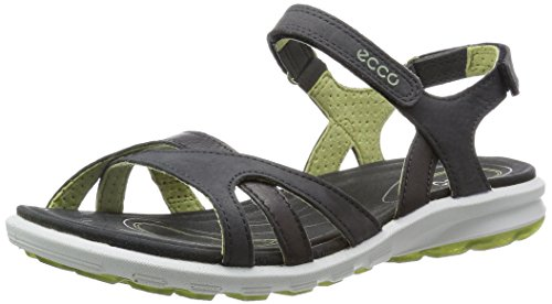 Ecco ECCO CRUISE, Damen Sport- & Outdoor Sandalen, Grau (DARK SHADOW/PEPPERMINT58941), 42 EU (8 Damen UK)