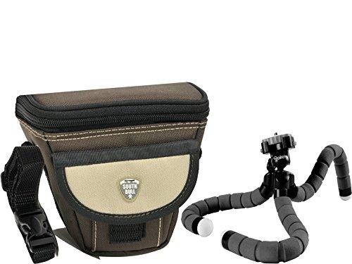 Foto Kamera Tasche Southbull M Set mit Reise Stativ Rollei Monkey für Sony Alpha 6500 6300 6000 5100 5000 und viele mehr