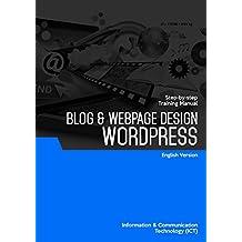 WORDPRESS (BLOG & WEB PAGE DESIGN) (English Edition)
