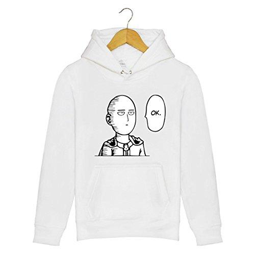 ValuePack Saitama Hoodie Anime Cosplay Unisexe Coton Molleton Pull Sweatshirt Costume Vêtements