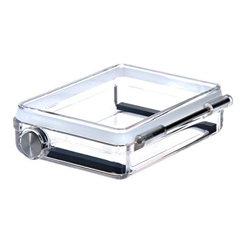 Sametop Wasserdichte BacPac Hintertür für GoPro Hero4 Schwarz, Hero4 Silbern, Heri3+ Kameras Standarde - 3 Akku Erweiterte Gopro