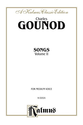 Songs, Volume II: For Medium Voice