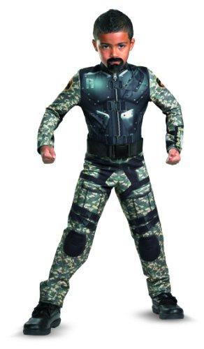 G.i. Joe Retaliation Roadblock Classic Costume, Black/Camo, -