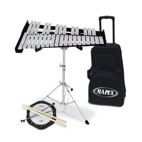 Mapex MXMPK-32 PC Glockenspiel - Tasche, Practice Pad & Zubehör