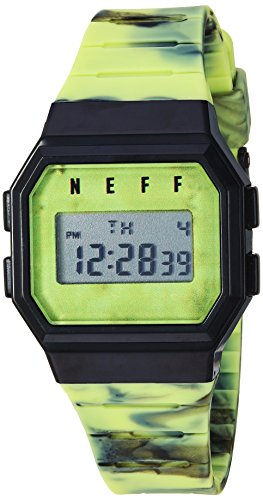 neff Automatic Plastic and Polyurethane Sport WatchMulti Color (Model: GWBKNF0252)