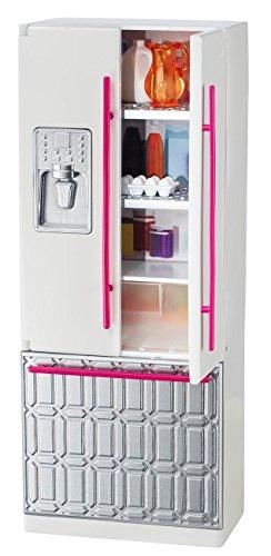 Barbie Mattel CFG70 - Kühlschrank, Puppenzubehör (Barbie Waschbecken)