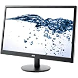 AOC E2470SWDA 59,9 cm (23,6 Zoll) Monitor (VGA, DVI, 1920 x 1080, 60 Hz) schwarz