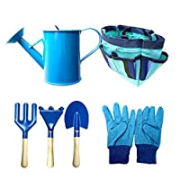 Matedepreso Garden Gloves Shovel Gardening Tools Fork Gardener Watering Can Kids Children