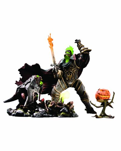 DC-Direct Premium Serie IV - Figura de acción de Jinete sin cabeza, diseño de World of Warcraft