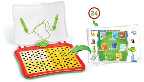 4-10 Jahre grün TOP Leapster Leap Frog Lernsystem 4 Spiele