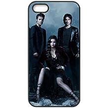 Vampire Diaries Saison M6G85R8NH coque iPhone 4 4s de couverture de cas coque 14FT14 noir