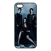 Vampire Diaries Saison M6G85R8NH coque iPhone 4 4s de couverture de cas coque 14FT14 noir