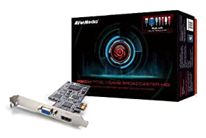 AVERMEDIA Game Broadcaster HD Record and Stream PC, Xbox 360, PS3, Wii and iPads -- capture up to 1080p60 with HDMI/DVI/VGA/Component inputs