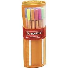 Fineliner - STABILO point 88 - 30er Rollerset - mit 30 verschiedenen Farben