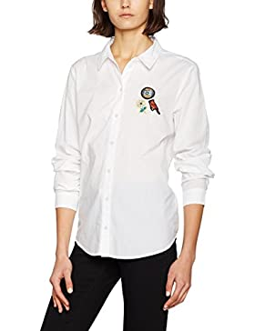 VERO MODA Damen Bluse Vmbadge Ls Shirt Dnm