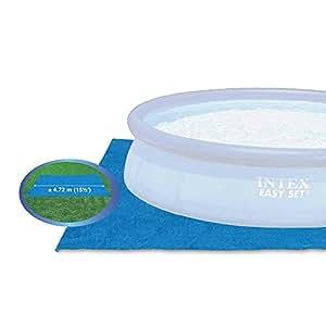 Intex 58932 accessoires piscines tapis de sol pour for Accessoires piscine 41