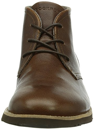 Rockport Ledge Hill Too, Herren Kurzschaft Stiefel Braun (driftwood)